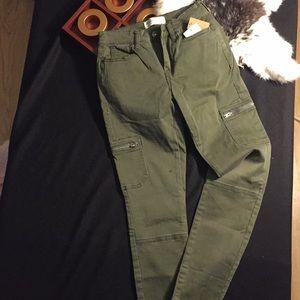 Mudd brand cargo skinny jeans